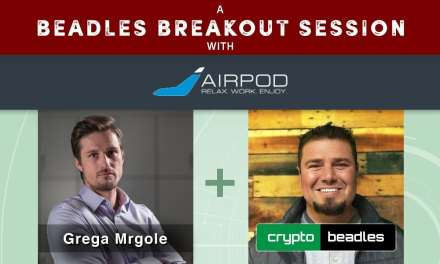 ICO AirPod (APOD) CEO Grega Mrgole Interview A Beadles Breakout Session