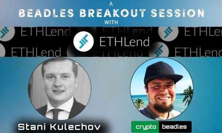 Ethlend (LEND) founder Stani Kulechov on Crypto lending