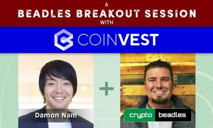Awesome Interview with Coinvest CEO Damon Nam A Beadles Breakout Session