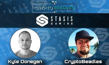 Stasis Gaming and their crypto rewards (BEF2018)
