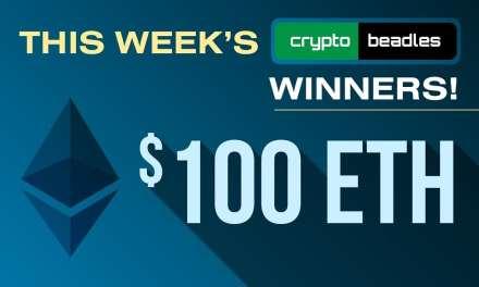 Winna Winna Ether Dinna This Weeks Crypto Beadles Winners