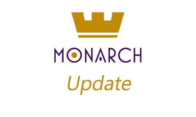Monarch Token Update 8-31-2018