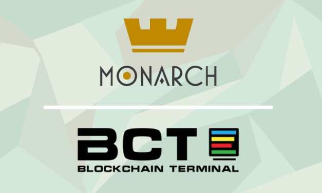 Blockchain Terminal (BCT) Chooses the Monarch Wallet For Exclusive Cold Storage Solution