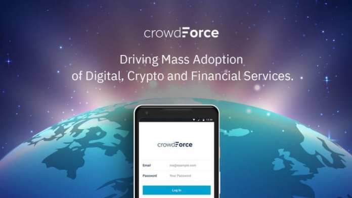 CrowdForce Launches ICO For Blockchain Based Agency Banking & Data Collection Platform