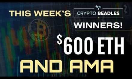 Live $600 #Crypto Giveaways,  Blockchain AMA, Bitcoin, 1 world currency etc