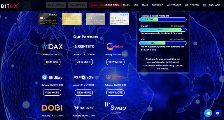 PR: Bitex Global Launches XBX on Global Exchanges
