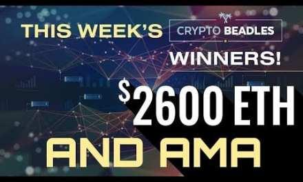 $2,600 Given away live. Bitcoin, Blockchain, Crypto AMA and more