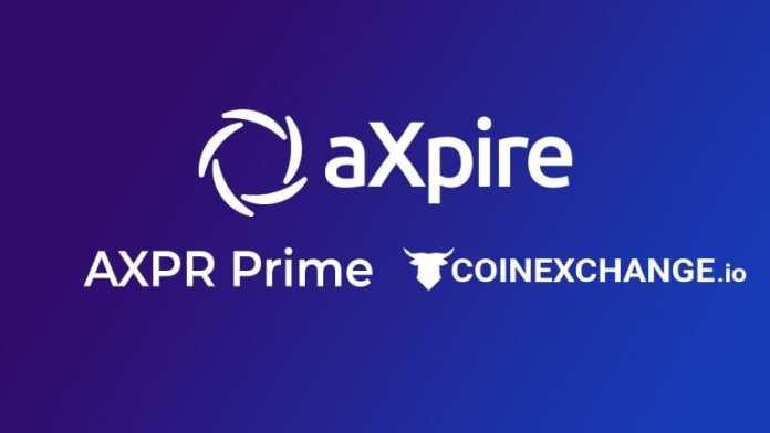 aXpire.io Updates: AXPR HODL Initiative and CoinExchange.io Listing