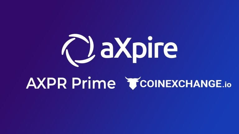 PR: aXpire.io Updates – AXPR HODL Initiative and CoinExchange.io Listing