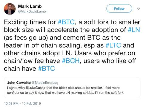 Core Developer's 300kb Block Proposal Bolstered in Bid to Push Lightning Adoption