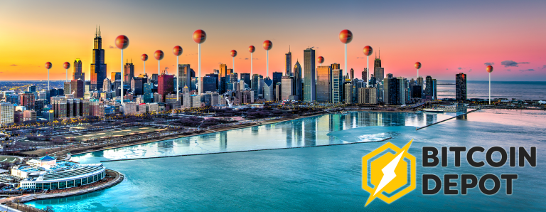 PR: Bitcoin Depot Adds 30 Bitcoin ATMs in Chicago With Zero Fees