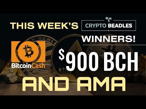 $900 in BCH Giveaway LIVE⎮Blockchain and Crypto AMA⎮IOST⎮BCH⎮OEX Scandal and More⎮Money Mondays⎮I
