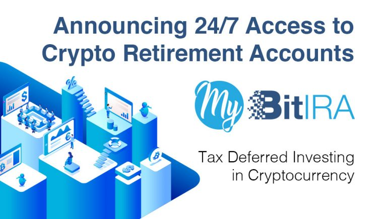 PR: My BitIRA Launches to Empower US Consumers With 24/7 Cryptocurrency Retirement Account Access