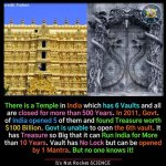 Treasure Chamber found at India's Sree Padmanabhaswamy Temple
