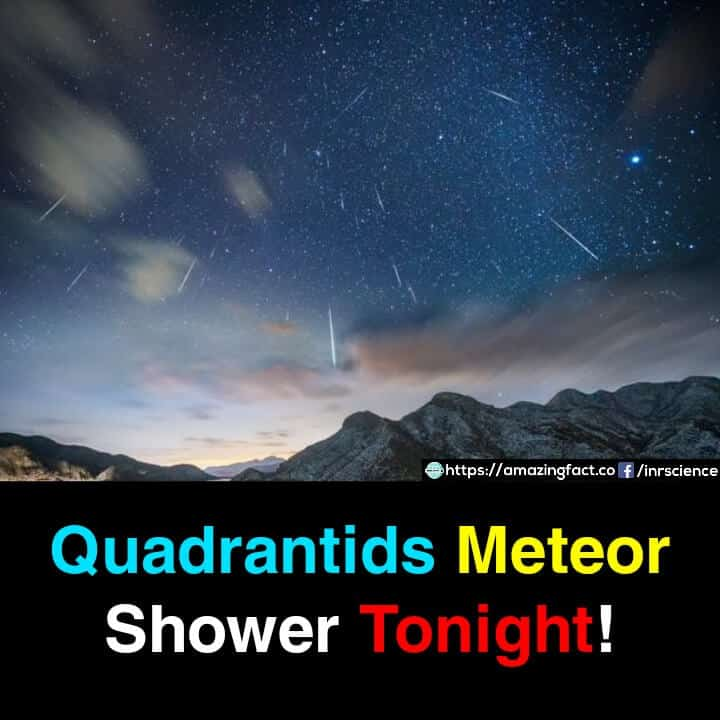 Quadrantids Meteor Shower January 2020