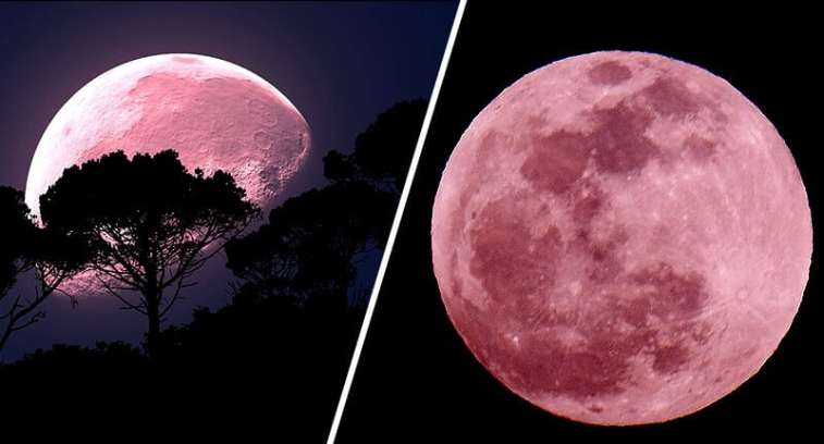 Super Pink Moon april 7 2020