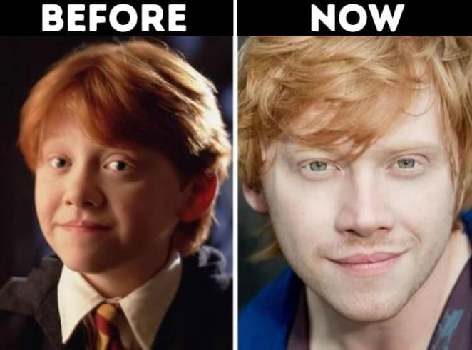actors from Harry Potter now Ron Weasley Played by Rupert Grint