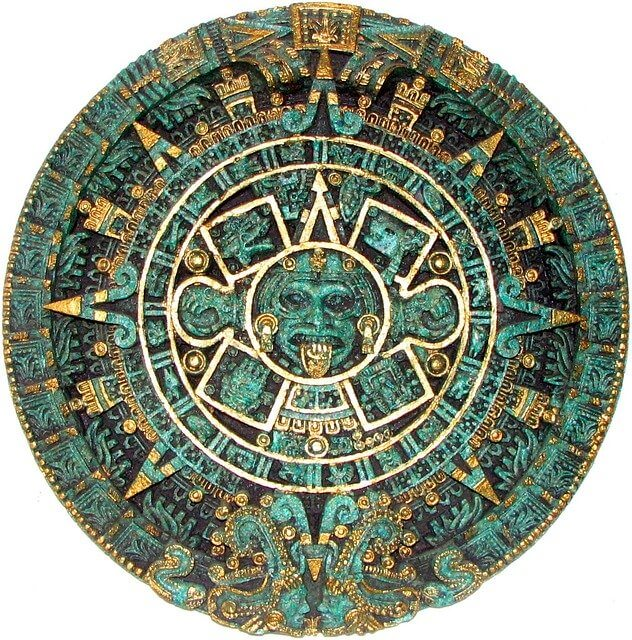 conspiracy theory arise around the Mayan calendar