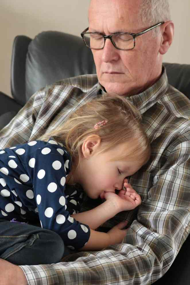 grandparents to increase in human life expectancy