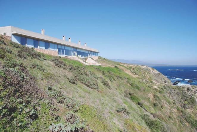 Amazing Houses Hidden From Sight Cliff House in Coquimbo Chile Side view