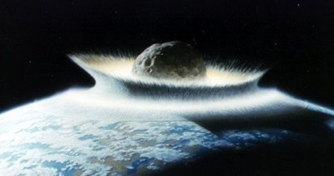 Earth fact billion year ago asteroid delivered up to half of Earth water