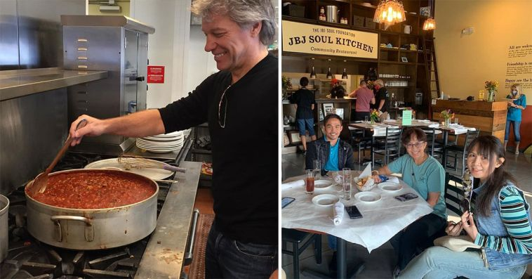 Jon Bon Jovi Opened 2 Charity Restaurants So That People in Need Can Eat Without Paying