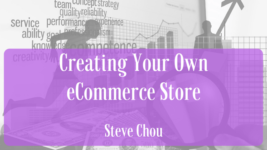 create your own ecommerce store