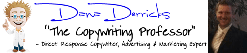 Dana Derricks, The Copywriting Professor