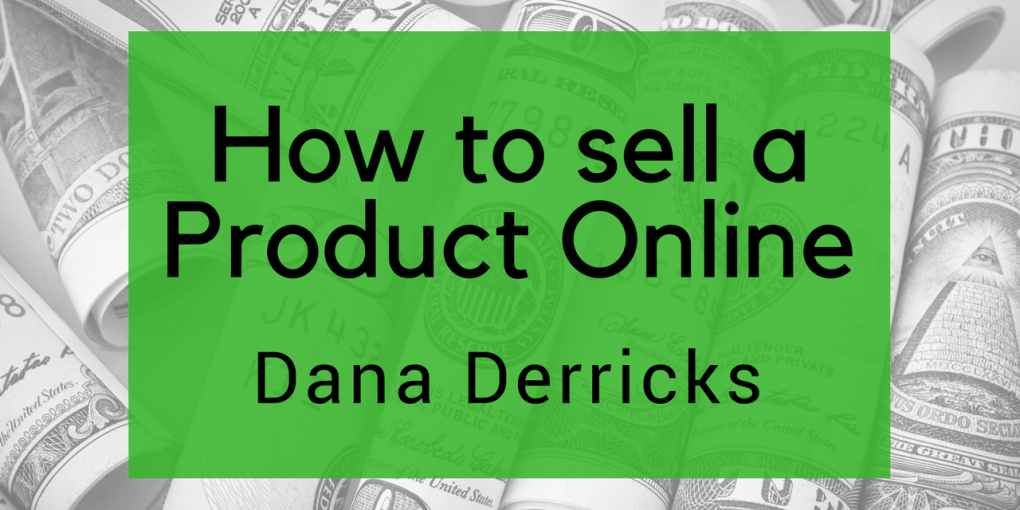 how to sell products online
