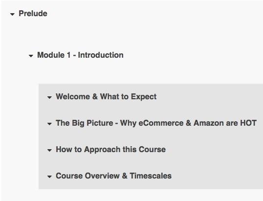 Amazon Course