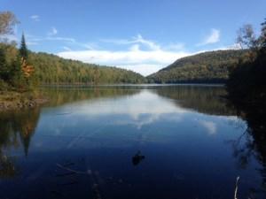 Billfish Pond with Billfish Mountain in the background