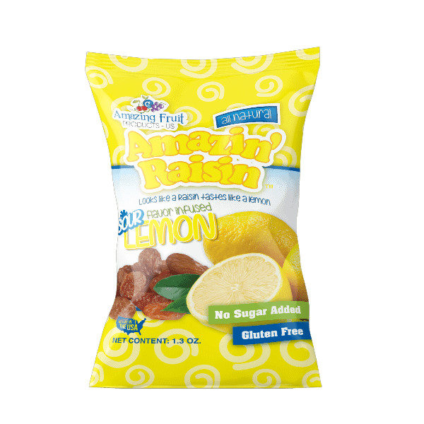 amazin' raisin lemon