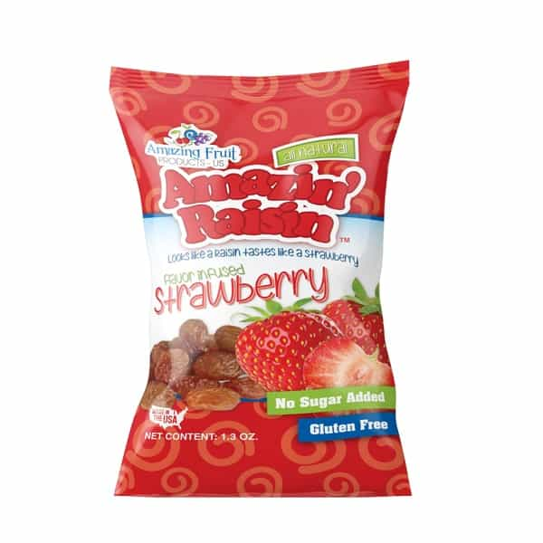 amazin' raisin strawberry