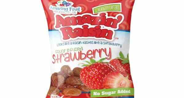 amazin' raisin strawberry