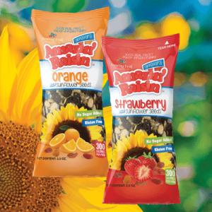 amazin raisin sunflower seeds orange and strawberry