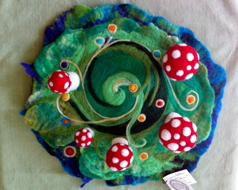 mushroom circle playscape