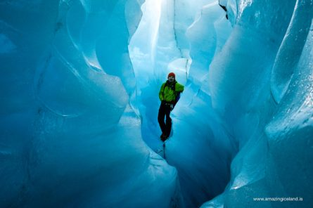 Into the Ice cave