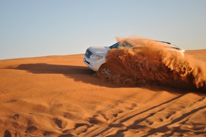 dune bashing at jaisalmer