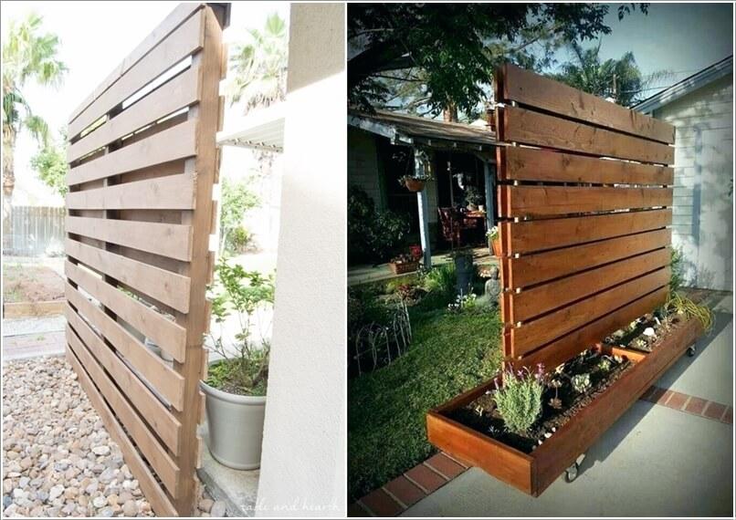 15 DIY Outdoor Privacy Screen Ideas