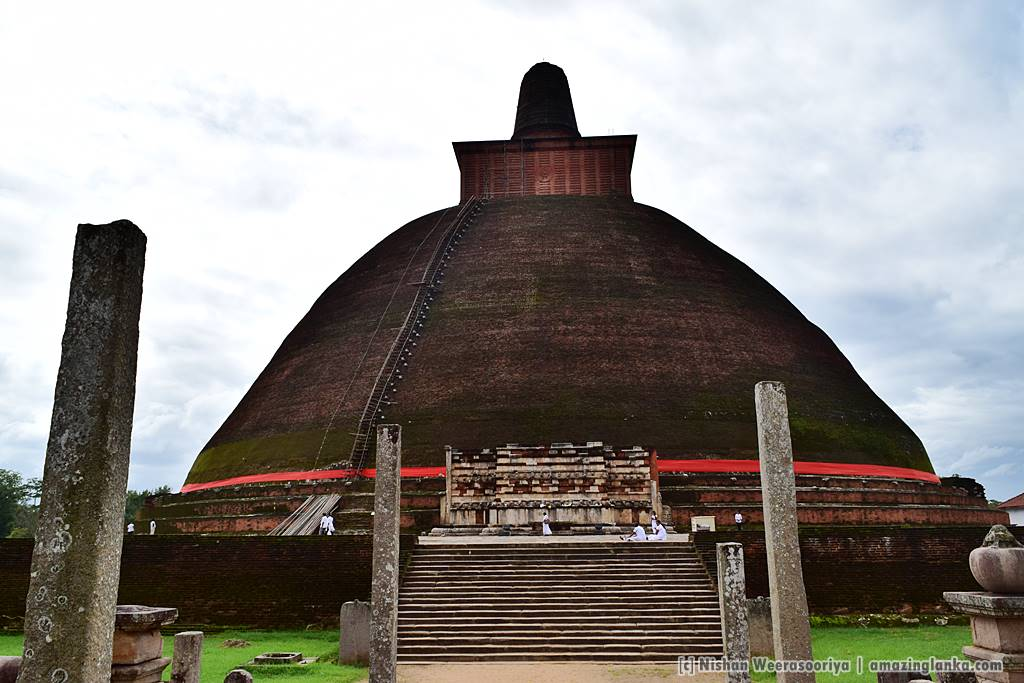 Jethavana Stupa in 2015