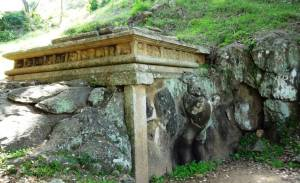 Sinha Pokuna (Lion Pond) at Mihinthale
