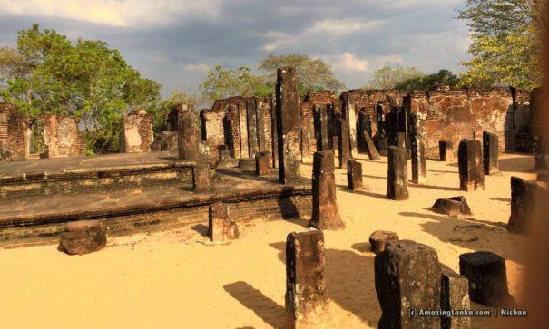 Badda Sema Malakaya at Ancient Capital of  Polonnaruwa