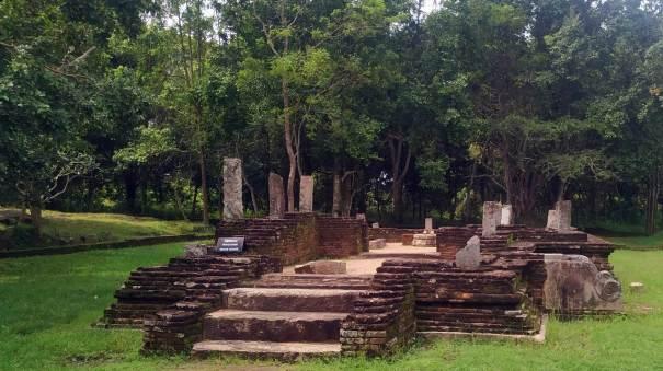 The image house of Panchayathana III of Panduwasnuwara Kingdom
