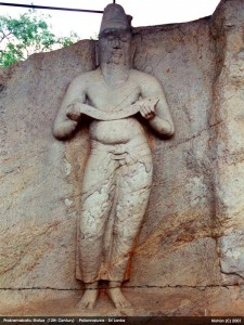 statue of King Parakramabahu