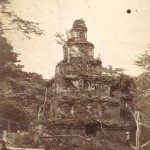 before restoration – photo taken on late 1800′s or early 1900′s