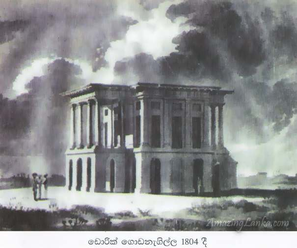 Doric Bungalow by the Sea of Arippu in 1804