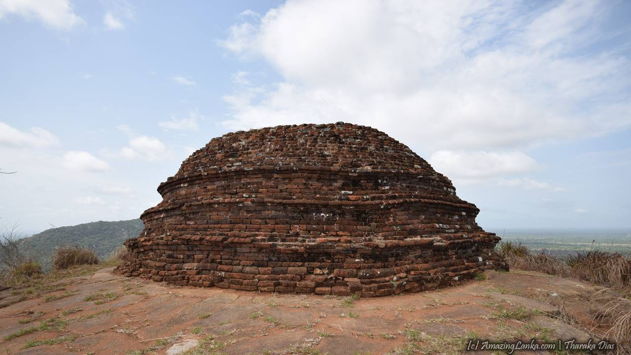 Eth Vehera Stupa in Mihintale Monastery - ඇත් වෙහෙර