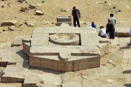 Abu Ghurab Stargate is a part of the Abu Sir Pyramid complex.