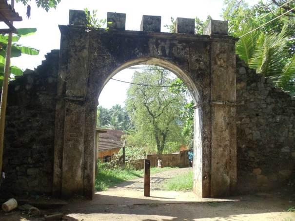 Dutch Fort of Ruwanwella