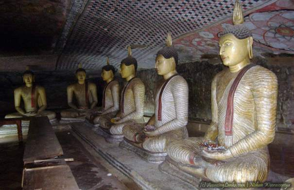Dambulla Cave Temple - දඹුල්ල රජමහා විහාරය